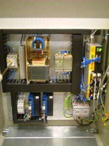 Baldor BXII is used with two Copley Junus amplifiers